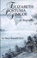 Elizabeth Postuma Simcoe  1762 1850