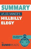 Summary of J d  Vance s Hillbilly Elegy Book