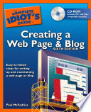 The Complete Idiot S Guide To Creating A Web Page Blog 6e