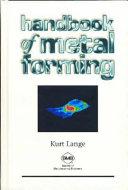 Handbook of Metal Forming