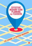 Effective Medium term Planning for Teachers