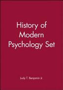 History of Modern Psychology Set