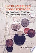 Latin American Constitutionalism