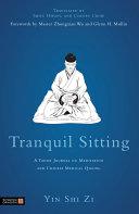 Tranquil Sitting