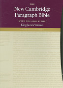 The New Cambridge Paragraph Bible with the Apocrypha