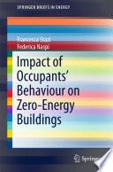 Impact of Occupants' Behaviour on Zero-Energy Buildings