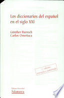 Los diccionarios del español en el siglo XXI