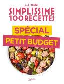 Pdf Simplissime 100 recettes spécial petit budget Telecharger
