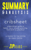 Summary & Analysis of Cribsheet