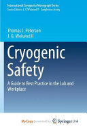 Cryogenic Safety Book