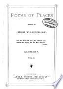 Poems of Places Oceana 1 V.; England 4; Scotland 3 V: Iceland, Switzerland, Greece, Russia, Asia, 3 America 5