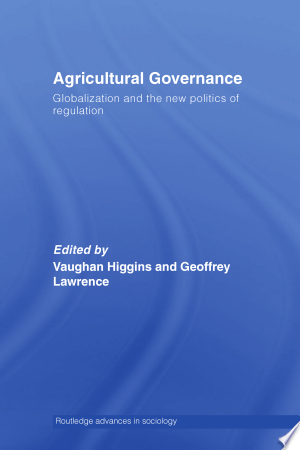 Download Agricultural Governance Free Books - Read Books