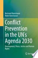 Conflict Prevention In The Un S Agenda 2030