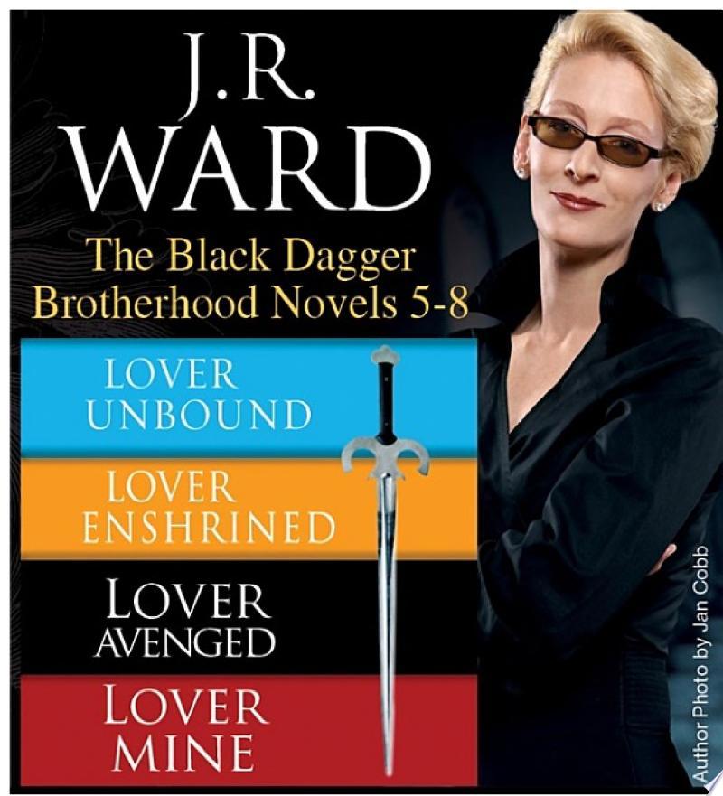 J.R. Ward The Black Dagger Brotherhood Novels 5-8 image