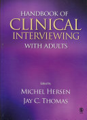 Handbook Of Clinical Interviewing With Adults