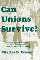 Can Unions Survive? Pdf/ePub eBook