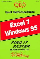 Microsoft Excel for Windows 95