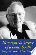 Historians in Service of a Better South