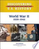World War II  1939 1945 Book