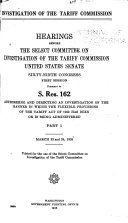 Investigation Of The Tariff Commission