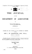 The Journal of the Department of Victoria