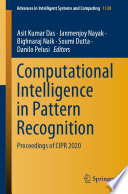 Computational Intelligence in Pattern Recognition Book