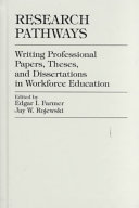 Research pathways: writing professional papers, theses, and ...
