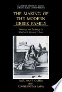 The Making of the Modern Greek Family Book