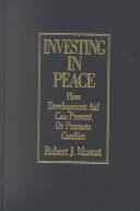 Investing in Peace