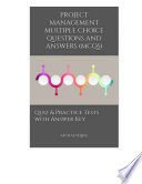 Project Management Multiple Choice Questions And Answers Mcqs  Book PDF