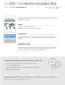 Global Health Impacts of Vector-Borne Diseases