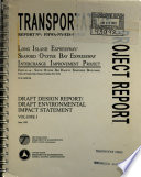 Long Island Expressway  I 495  and Seaford Oyster Bay Expressway  NY 135  Interchange Improvement Project Book PDF