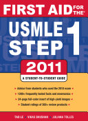 First Aid for the USMLE Step 1 2011
