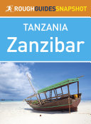 Pdf Zanzibar (Rough Guides Snapshot Tanzania) Telecharger