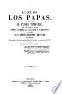 Lo Que Son Los Papas