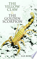 Free The Yellow Claw & The Golden Scorpion Book