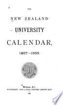 The New Zealand University Calendar
