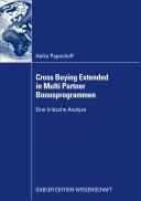 Cross Buying Extended in Multi Partner Bonusprogrammen: Eine ...
