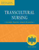 Transcultural Nursing  Concepts  Theories  Research   Practice  Third Edition