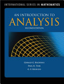 An Introduction to Analysis
