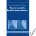 Resonances In The Earth Ionosphere Cavity Book PDF