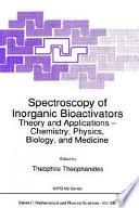 Spectroscopy of Inorganic Bioactivators Book