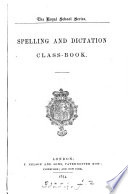 Spelling and Dictation Class book