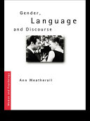 Gender  Language and Discourse