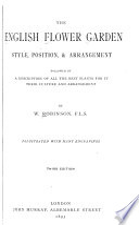 The English Flower Garden Book PDF