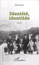 Identité, identités Pdf/ePub eBook