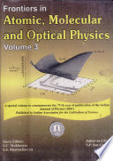 Frontiers In Atomic Molecular And Optical Physics Vol 3 Book PDF