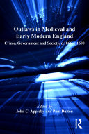 Outlaws in Medieval and Early Modern England Pdf/ePub eBook