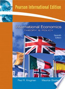 Valuepack:International Economics:Theory and Policy