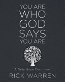 You Are Who God Says You Are Book